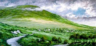 Wall Art - Painting - Donegal Hills by Jim Gola