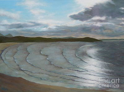 Donegal's Shimmering Sea Art Print