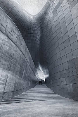 South Korea Photograph - Dongdaemun Design Plaza by Joan Carroll