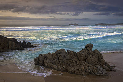 Art Print featuring the photograph Doninos Beach Ferrol Galicia Spain by Pablo Avanzini