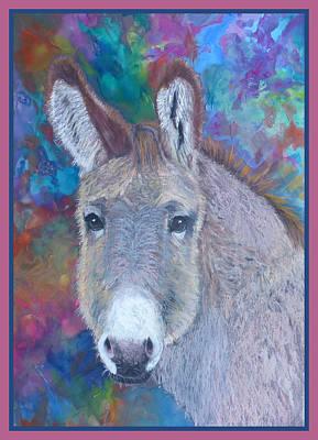 Donkey Mixed Media - Donkey Face by Raela K