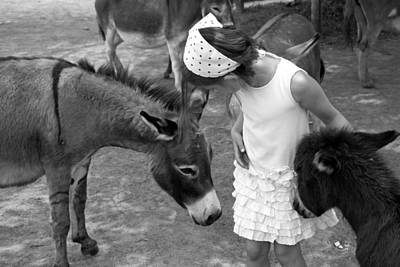 Donkey Whisperer Art Print by Brooke T Ryan