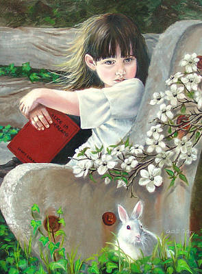 Donna Renee Mc Cann As Alice Art Print by JoAnne Castelli-Castor