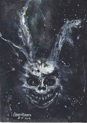 Donny Painting - Donny Darko by Casey Rhodes