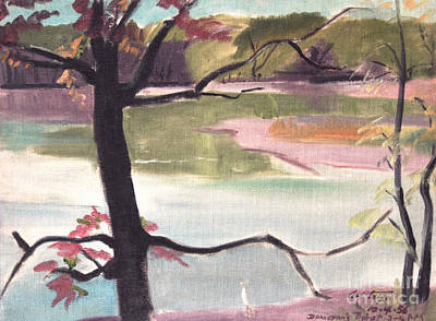 Painting - Donovan's Lake by Art By Tolpo Collection