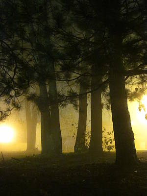 Guy Ricketts And Art Photograph - Don't Breathe The Yellow Fog by Guy Ricketts