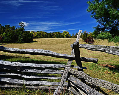Photograph - Don't Fence Me In by Bill Swartwout Fine Art Photography
