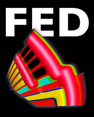 Fed Digital Art - Dont Fight The Fed by Charles Stuart