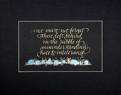 Don't Forget... Print by Sally Penley