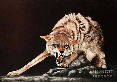 Dont Mess With Me Art Print by DiDi Higginbotham