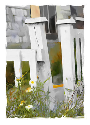 Weed Digital Art - Don't Pick The Daisies by Bob Salo