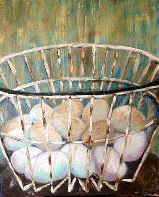 Painting - Don't Put All Your Eggs In One Basket by Jenell Richards