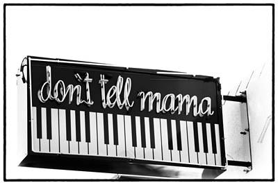 Photograph - Don't Tell Mama by Gigi Ebert