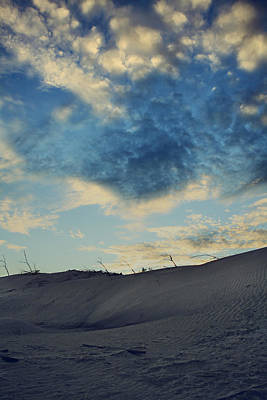 Sand Dunes Photograph - Don't Tell Me Goodbye by Laurie Search