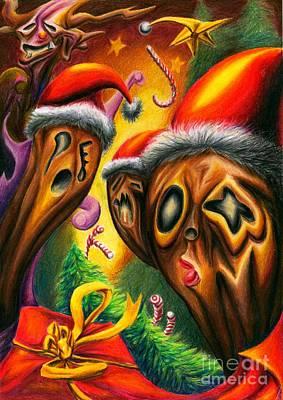 Don't Tell Me You've Never Stolen Anyone's Christmas Original by Alisa Bogodarova