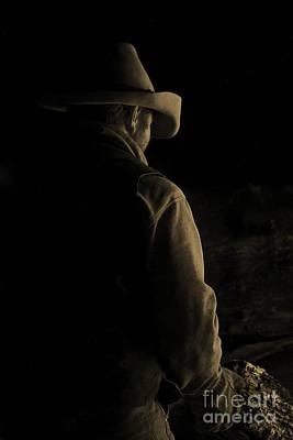 Ranching Photograph - Don't Turn Around by Nikole Morgan