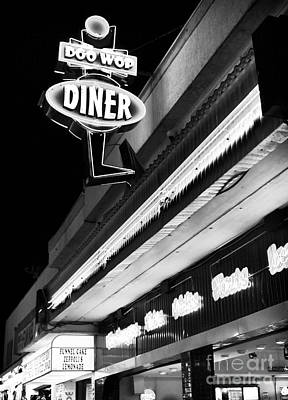 Photograph - Doo Wop Diner II by John Rizzuto