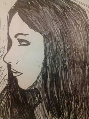 Doodle Robin Art Print