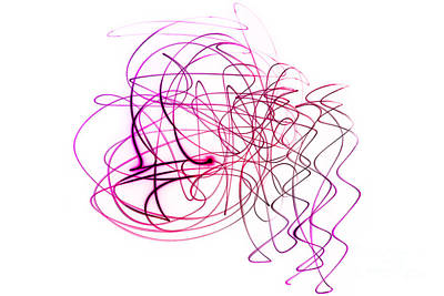 Abstract Photograph - Doodling by Sabine Jacobs