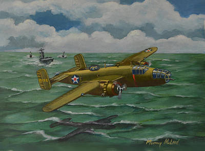 Print featuring the painting Doolittle Raider 2 by Murray McLeod