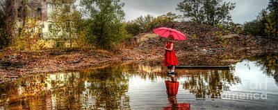 David Paul Photograph - Doom Reflection by David Paul