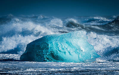Frozen Digital Art - Doomed - Iceland Coast Photograph by Duane Miller