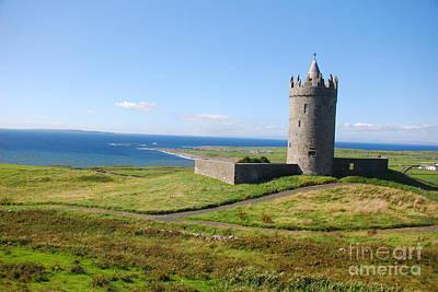 Doonagore Tower Photograph - Doonagore Castle - Doolin by Joe Cashin