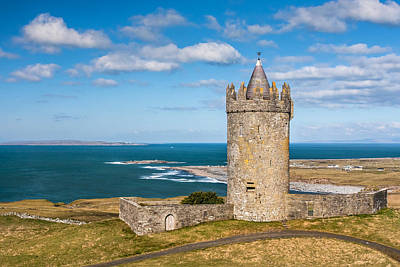 Doonagore Tower Photograph - Doonagore Round Tower Ireland by Pierre Leclerc Photography