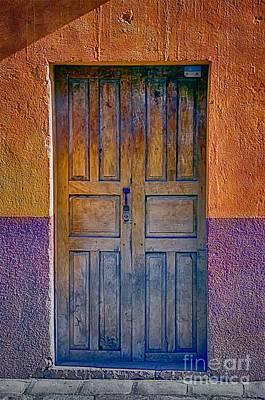 Door 002 Art Print