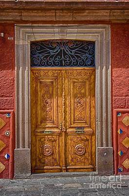 Photograph - Door  004 by Nicola Fiscarelli