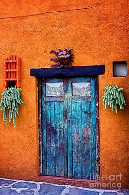 Photograph - Door  006 by Nicola Fiscarelli