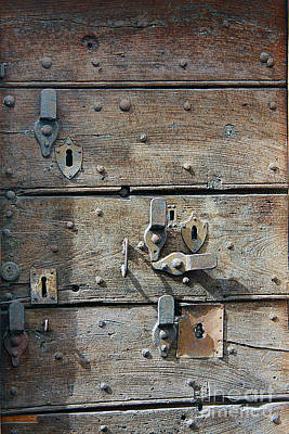 Photograph - Door #1 by Tom Griffithe