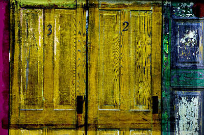 Photograph - Door 3 And 2 by Craig Perry-Ollila