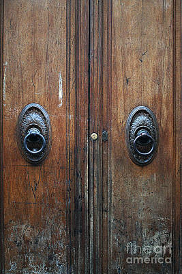 Photograph - Door #5 by Tom Griffithe