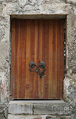 Photograph - Door #9 by Tom Griffithe