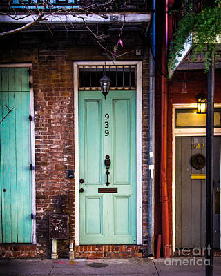 French Door Digital Art - Door 939 by Perry Webster