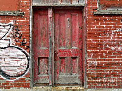 Photograph - Door And A Half  by Ethna Gillespie