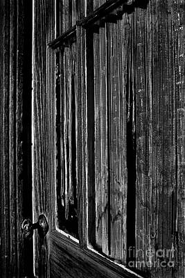 Photograph - Door And Lace by Paul W Faust -  Impressions of Light