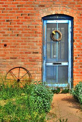 Photograph - Sold -  $50 -  8x12 Canvas - Florence Door by Tam Ryan