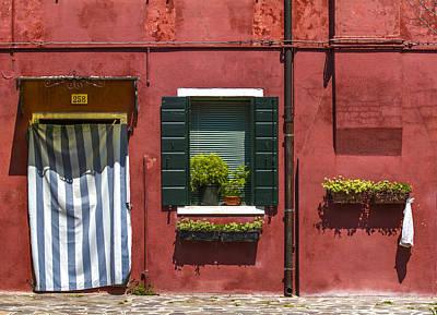 Photograph - Door And Window 258 by Roberto Pagani