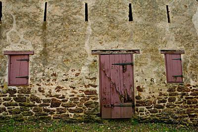 Photograph - Door And Windows by Kristia Adams