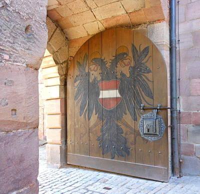 Door At Nuremberg Art Print by Kay Gilley
