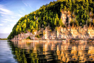 Door County Ellison Bay Bluff Art Print