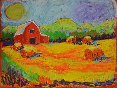 Pastel - Door County Harvest by Pat Olson