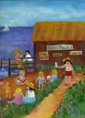 Painting - Door County Scene by Pat Olson