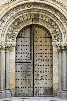 Photograph - Door by Frank Tschakert