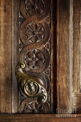 Photograph - Door Handle by Inge Riis McDonald