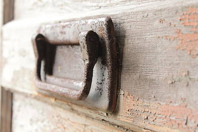 Door Handle Art Print by Wayne Thompson