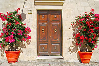Photograph - Door In Matera Italy by Caroline Stella