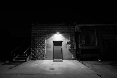 Photograph - Door In The Dark by Nathan Hillis